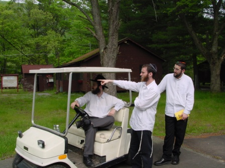 head staff rutman with golf cart in perfect condition