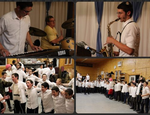 GAN Celebrates Kiddush Levona With Extra Joy