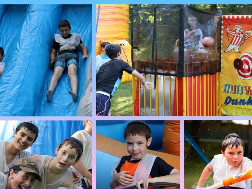 Outdoor Waterpark Comes to Camp!
